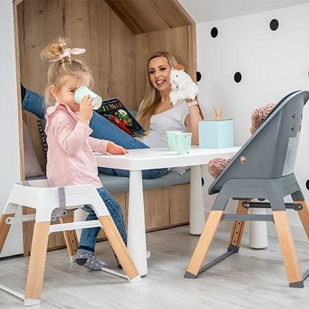 krzesełko do karmienia rosnące razem z dzieckiem espiro sense taboret