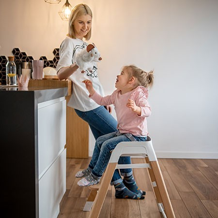 krzesełko rosnące z dzieckiem espiro sense hoker